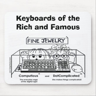 Computious & DotComplicated(TM) Bling-Bling Mouse Pad