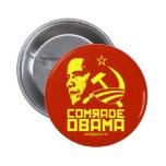 Comrade Obama 6 Cm Round Badge