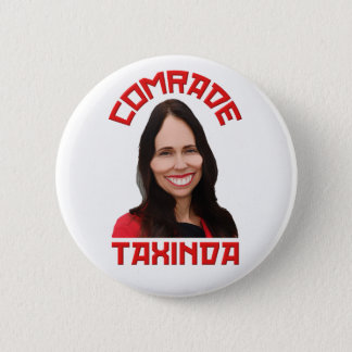 Comrade Taxinda Protest Button