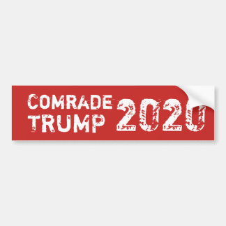 Comrade Trump 2020 Bumper Sticker