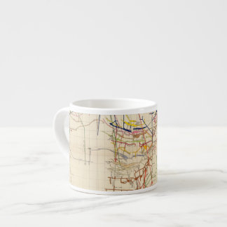 Comstock Mine Maps Number IV Espresso Cup
