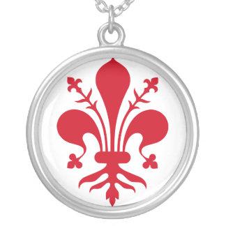 Comune di Firenze Silver Plated Necklace