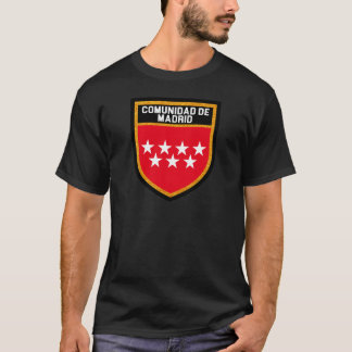 Comunidad de Madrid Flag T-Shirt