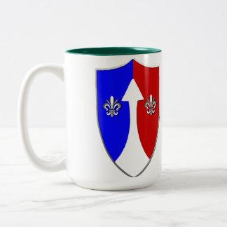 COMZEUR - TASCOM Patch 1962-1974 Two-Tone Coffee Mug