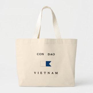 Con Dao Vietnam Alpha Dive Flag Canvas Bag