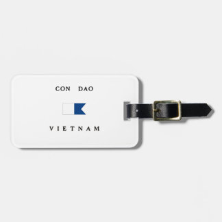 Con Dao Vietnam Alpha Dive Flag Luggage Tags