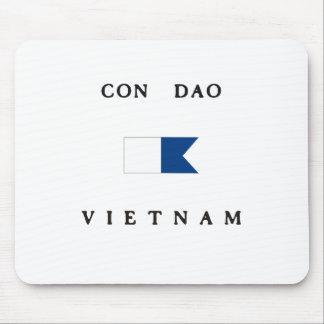 Con Dao Vietnam Alpha Dive Flag Mousepads