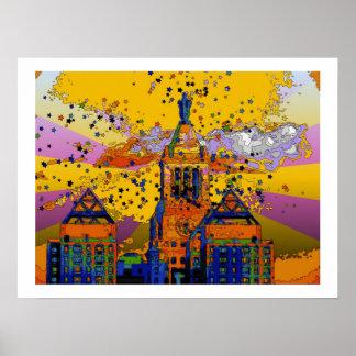 Con Edison Clock Tower Union Square 001 Print