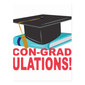 Con-Grad-Ulations Postcard
