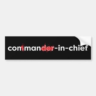Con Man In Chief Bumper Sticker