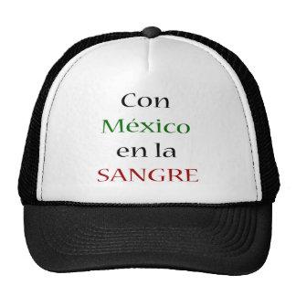 Con Mexico En La Sangre Hat