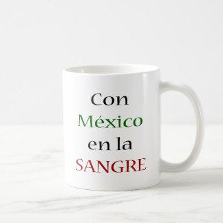 Con Mexico En La Sangre Mug