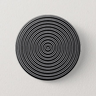 Concentraspiral 6 Cm Round Badge