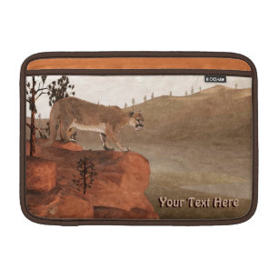 Concentration - Cougar MacBook Sleeve