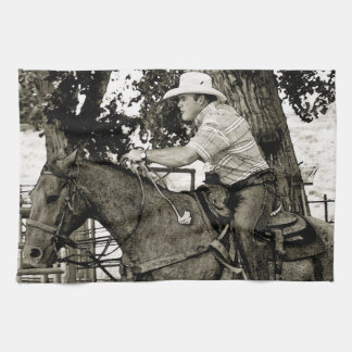 Concentration Times Two Kitchen Towel Western Life