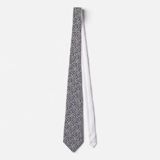 Concentric Abstract Circles Tie