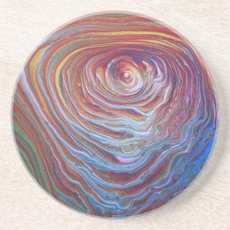 Concentric artwork Coaster! Coaster