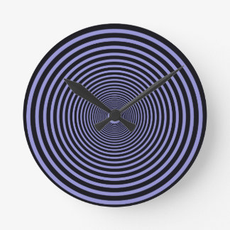 concentric circle: blue clocks