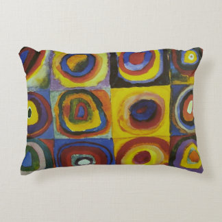Concentric Circles, 1913 Decorative Cushion
