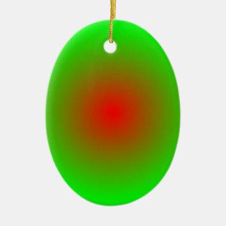 Concentric Circles #22 Ceramic Ornament