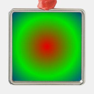 Concentric Circles #22 Metal Ornament