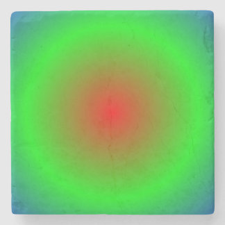 Concentric Circles #22 Stone Coaster