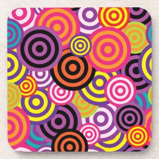 Concentric Circles #2 Coaster