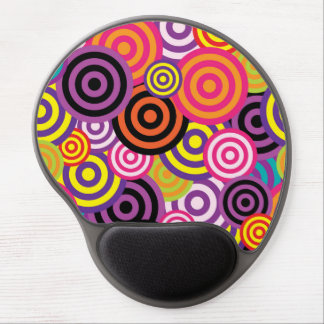 Concentric Circles #2 Gel Mouse Pad