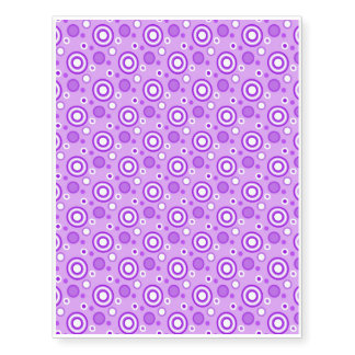 Concentric Circles in Purple