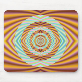 Concentric Circles Mouse Pad