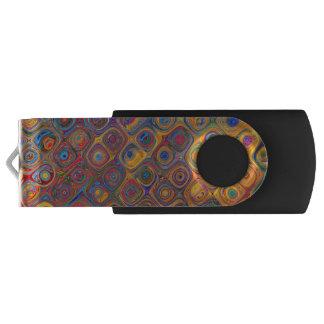 Concentric Circles USB Flash Drive