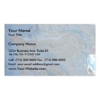 Concentric Layers In Limestone At Wanneroo Beach Pack Of Standard Business Cards