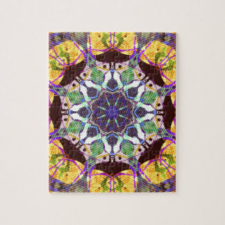 Concentric Lines of Color Jigsaw Puzzle