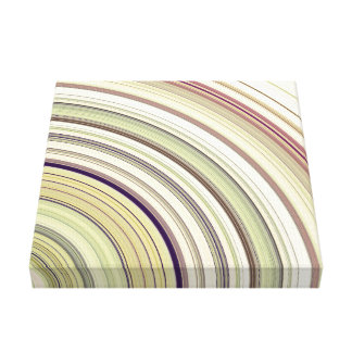 Concentric Rings Abstract Canvas Print