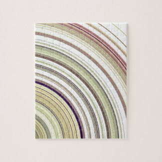 Concentric Rings Abstract Jigsaw Puzzle