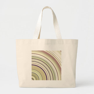 Concentric Rings Abstract Large Tote Bag