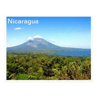 concepcion volcano postcard