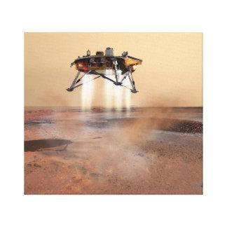 Concept Art of Phoenix Mars Lander Canvas Print