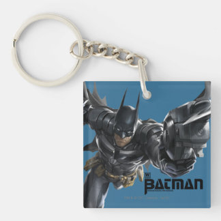 Concept Batman With Batclaw Double-Sided Square Acrylic Key Ring