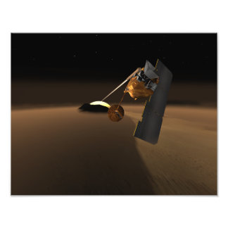Concept for Mars Volcanic Emission Life Scout Photographic Print