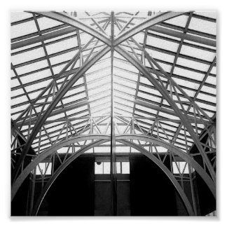 Conceptual photo Angles and Forms Poster
