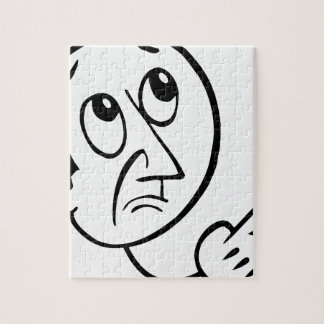 Concerned Face Jigsaw Puzzle