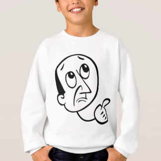 Concerned Face Sweatshirt