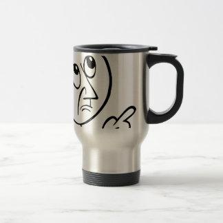 Concerned Face Travel Mug