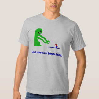 Concerned Human Being T Shirt