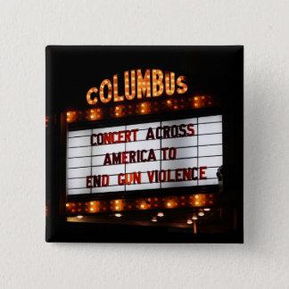 Concert Across America 15 Cm Square Badge