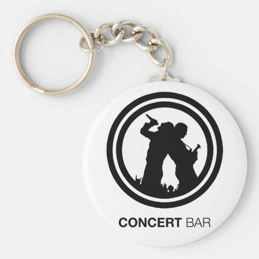 Concert Bar Key Chain
