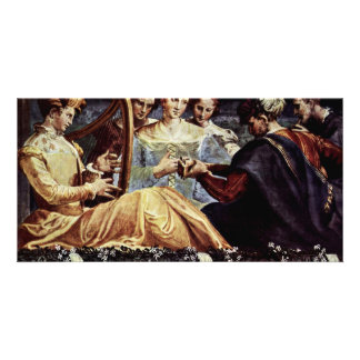 Concert By Nicol㲠Dell'Abate Best Quality Photo Greeting Card
