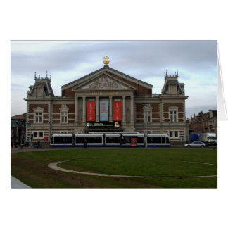 Concert Hall, Amsterdam Note Card