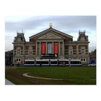 Concert Hall, Amsterdam Postcard